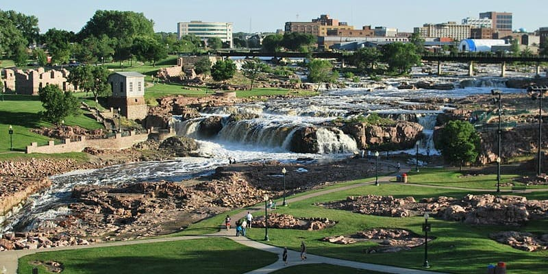 History of Sioux Falls South Dakota